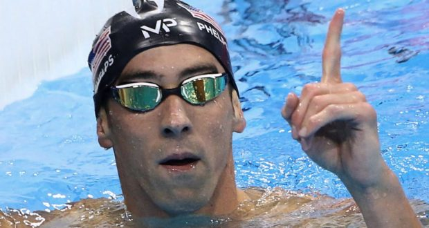 Michael Phelps Portada
