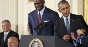 Michael Jordan y el presidente