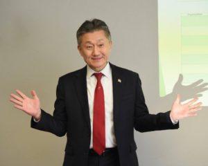 Jimmy Rhee, Secretario de Asuntos Minoritarios de la Gobernacion de Maryland (GOMA).