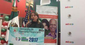 Mónica Mendoza Archer, Coordinadora General de Información y Vinculación CONSAR